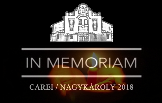 In Memoriam - Carei 2018